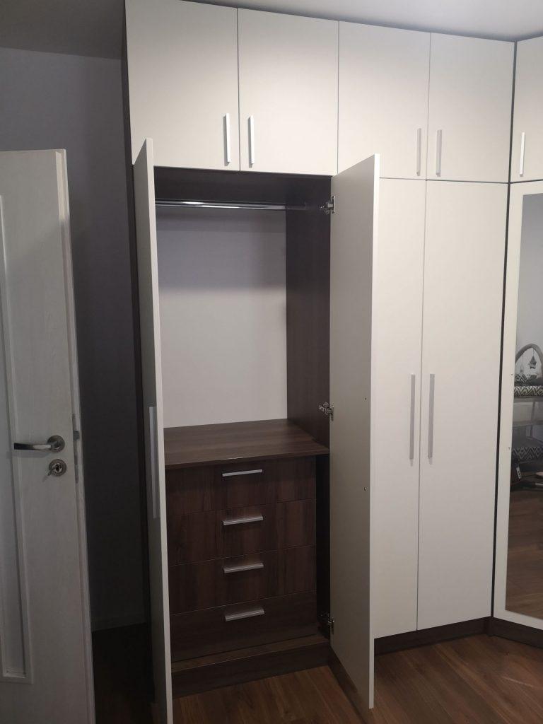 Ъглов гардероб Елена 3