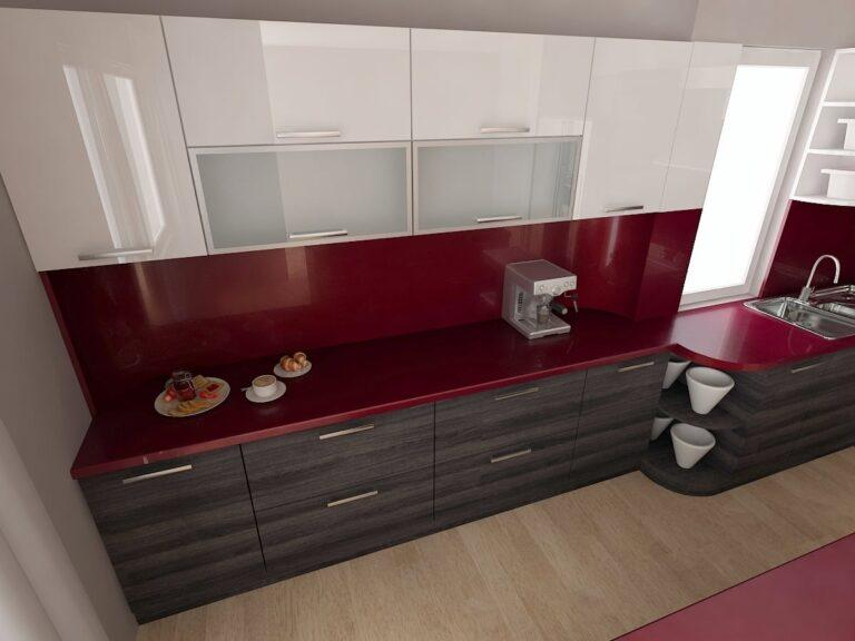 Кухня Враца_проект бордо 2