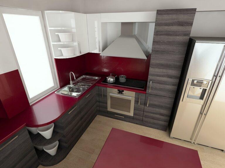 Кухня Враца_проект бордо 4