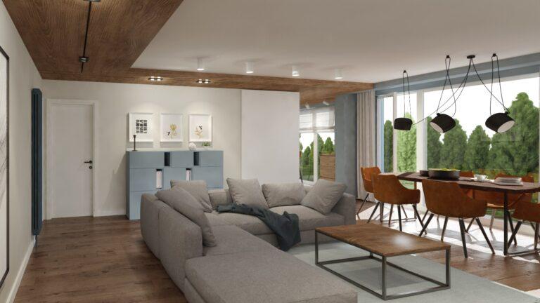 мебели за дома - дневна с кухня Флора Гардън