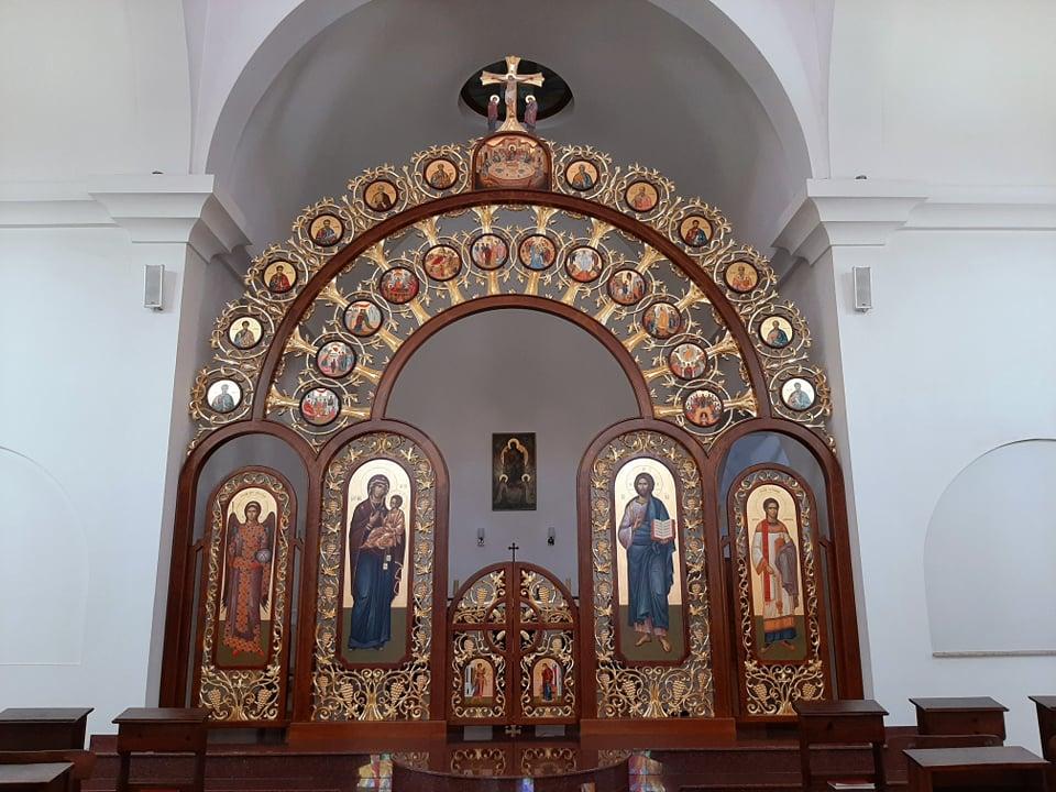 мебели по поръчка Ювелир, мебели за църквата