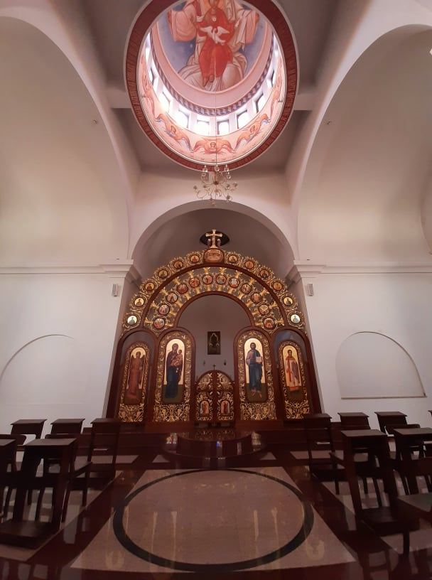 Манастир Свети дух_иконостас