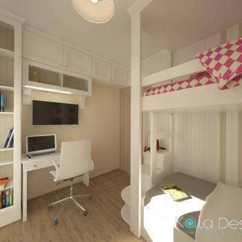Детска стая Студентски град_проект 4